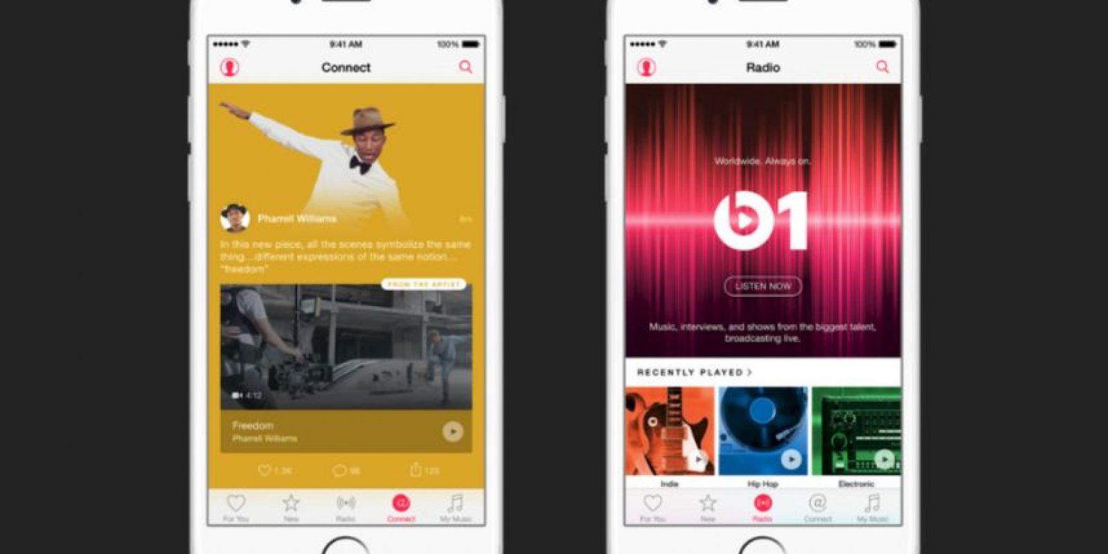 3) Disponible en 100 países, a diferencia de los 55 de Spotify Foto:Apple