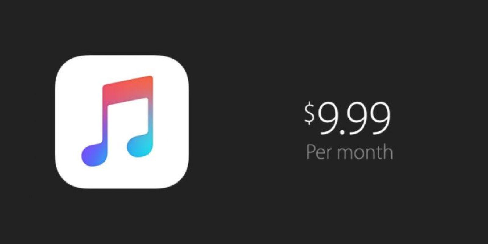 6) Precios competitivos como los paquetes de 14.99 dólares mensuales por seis cuentas Foto:Apple