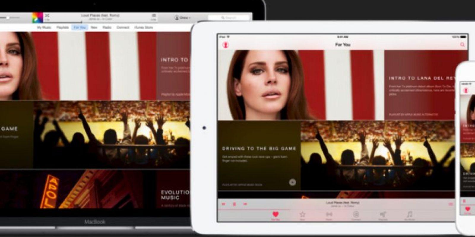 7) Amplio catálogo musical con 37 millones de canciones; siete millones más en comparación con Spotify Foto:Apple
