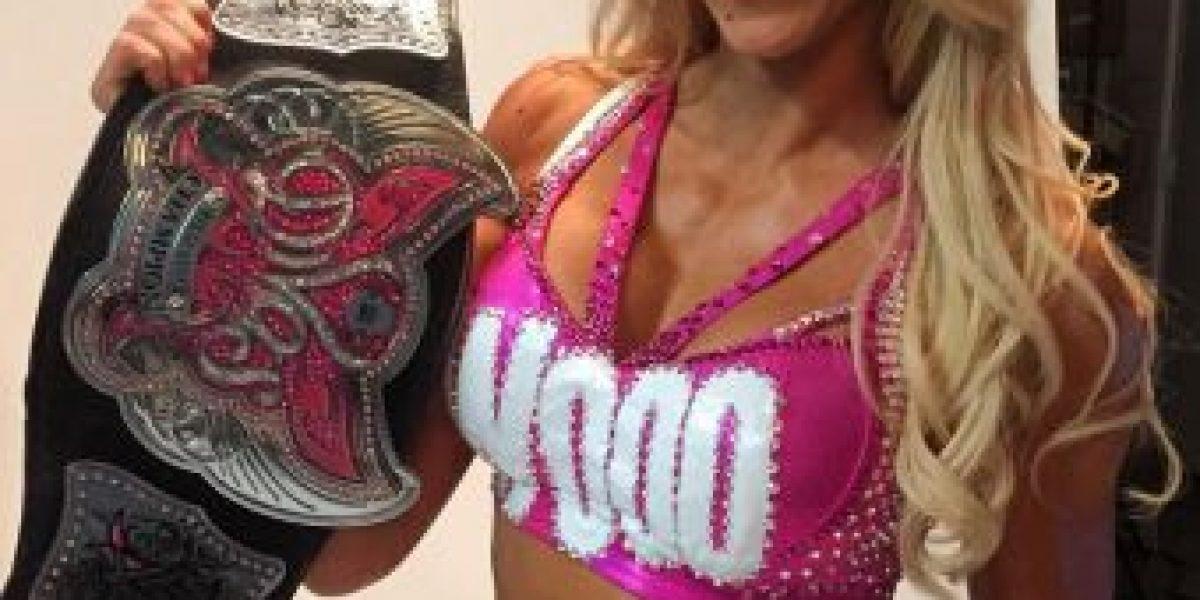 Conozcan a Charlotte, la campeona de las divas de la WWE