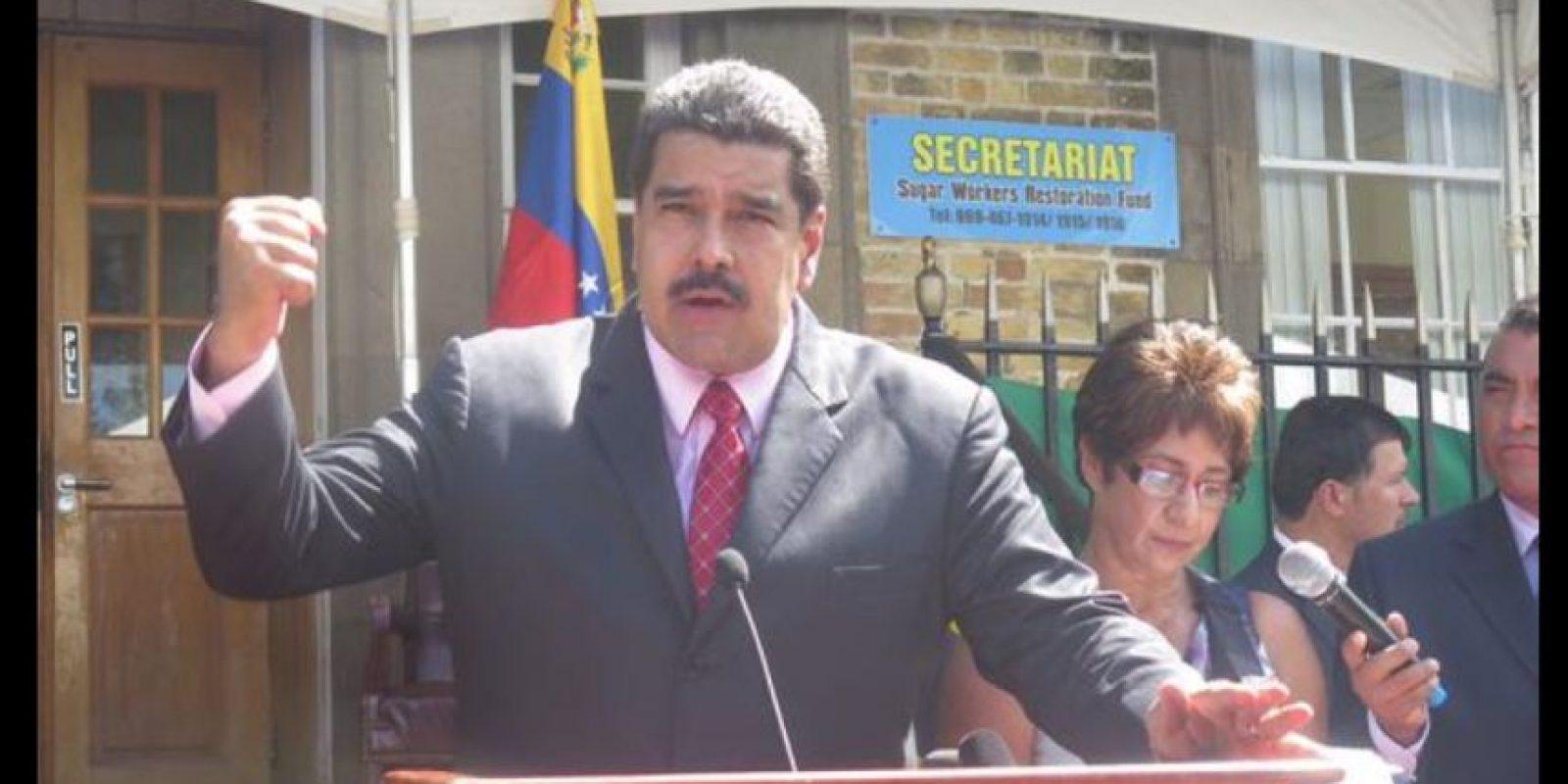 Venezuela se ha comprometido a ayudar al desarrollo de aquel país. Foto:Vía Twitter @thomasramirezs