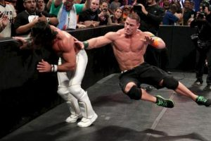 Luego de 16 minutos de combate, John Cena recuperó el título de los Estados Unidos. Foto:WWE.com
