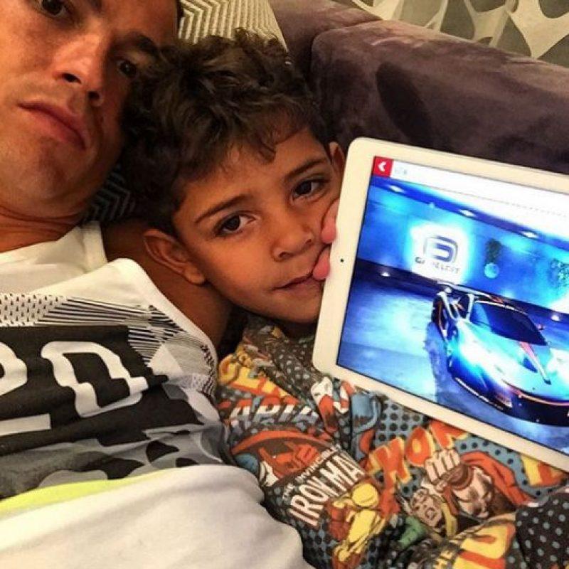 Cristiano Ronaldo Jr. llegó al mundo en junio de 2010. Foto:Vía instagram.com/Cristiano