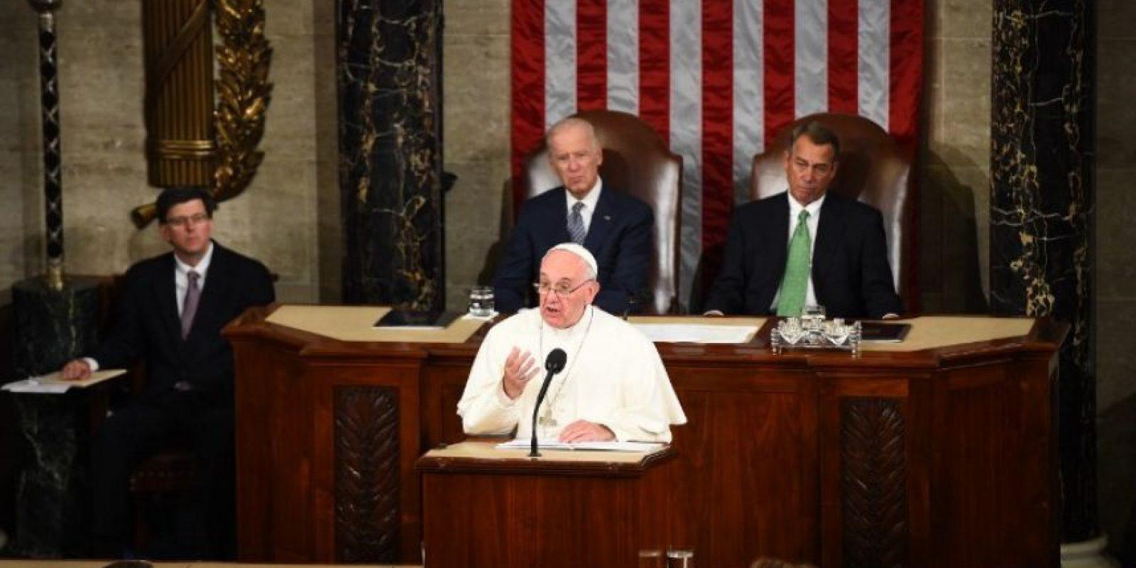 """""""Su responsabilidad como miembros del Congreso es permitir que este país crezca como nación, a través de su actividad legislativa"""" Foto:AFP"""