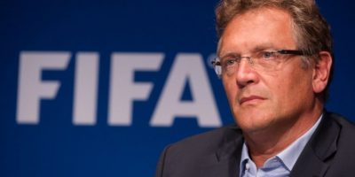 Valcke es considerado como el principal colaborador del expresidente Blatter. Foto:AFP
