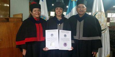 VIDEO. Ana Lucía Martínez, primera legionaria en Europa y ahora ingeniera química