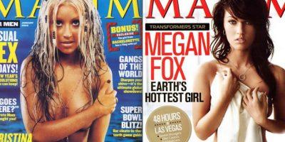 """50 portadas más sexys de """"Maxim"""""""
