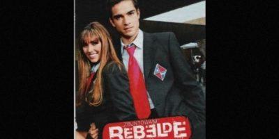 "En 2004 encarnó a ""Miguel Arango"" en la telenovela ""Rebelde"". Foto:Televisa"