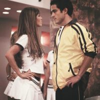 """Por un tiempo se le relacionó sentimentalmente con Anahí, quien interpretaba a """"Mia Colucci"""" en la novela. Foto:Televisa"""