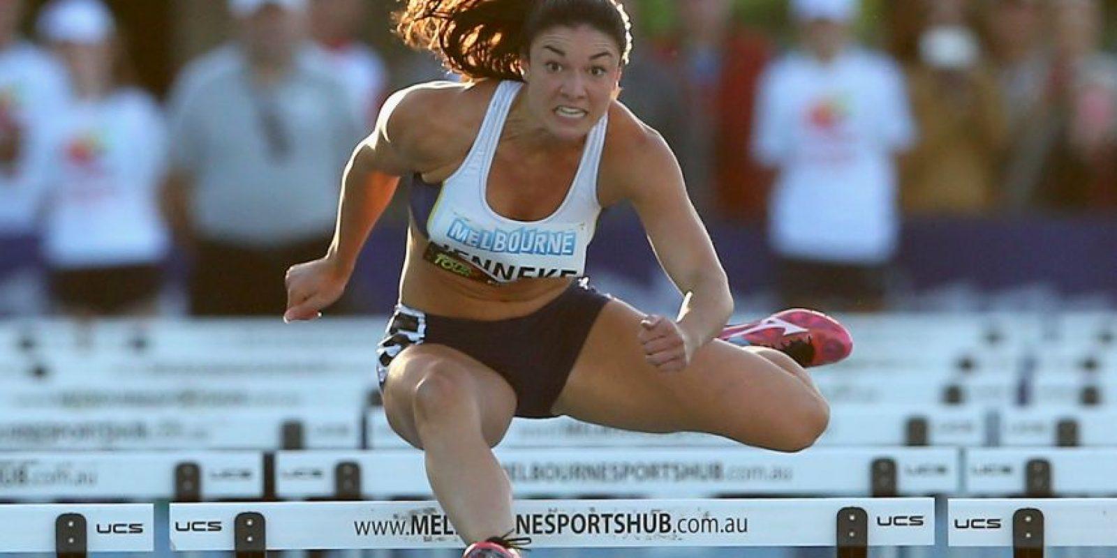 La atleta australiana que conquista con sus bailes de calentamiento recibió una propuesta por un portal porno para posar sin ropa Foto:Getty Images