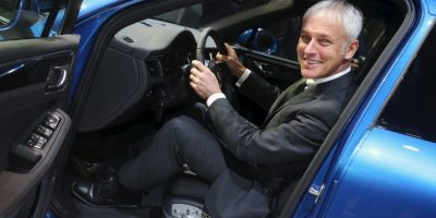 Matthias Müller, quién ha trabajado también para Audi. Foto:Getty Images