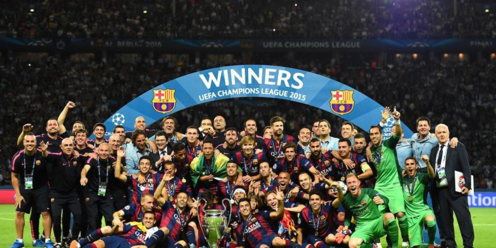 Irá el Barcelona como campeón de la Champions League 2014/2015. Foto:Getty Images