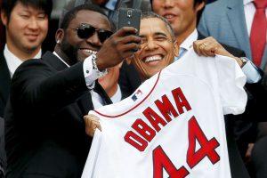 Ese año llegó como agente libre a los Red Sox de Boston. Foto:Getty Images