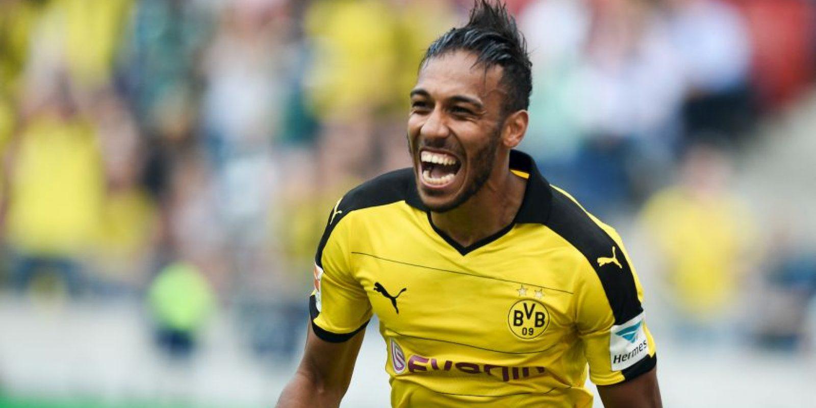 3. Pierre Emerick Aubameyang (Borussia Dortmund/Alemania) Foto:Getty Images