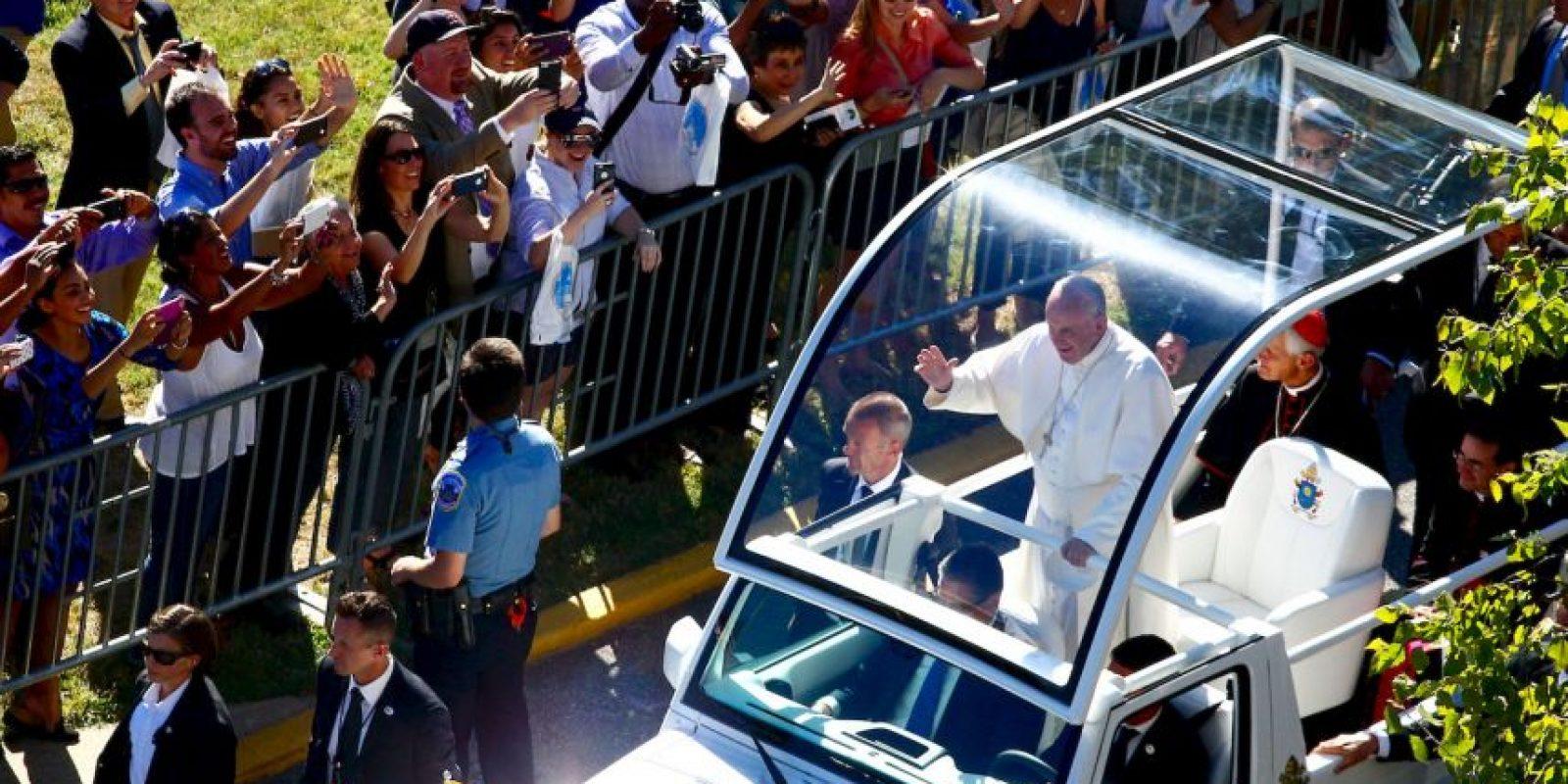 El religioso ofreció un discurso en el Congreso estadounidense. Foto:Getty Images