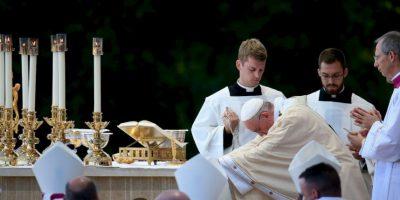 """""""Una pena justa y necesaria nunca debe excluir la dimensión de la esperanza y el objetivo de la rehabilitación"""", sostuvo el papa. Foto:Getty Images"""