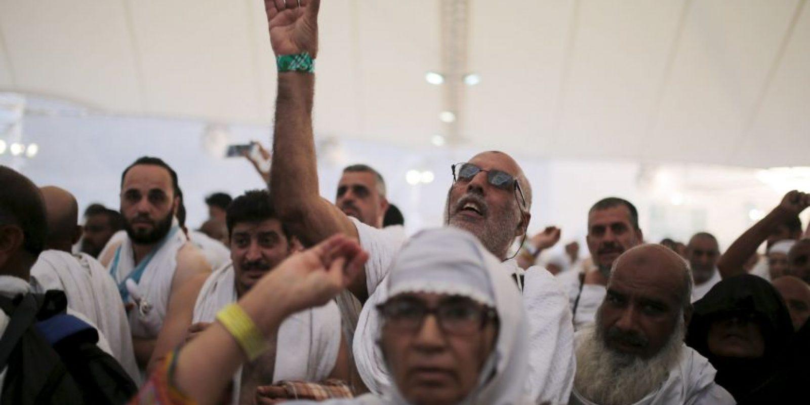 Es el segundo accidente mortal en La Meca Foto:AP