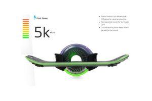 Se cargará completamente en 16 minutos Foto:hoverboard.com