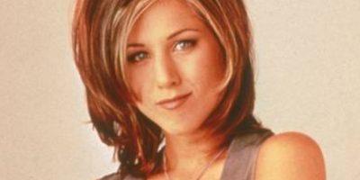 "Jennifer Aniston se hizo famosa como ""Rachel"" en ""Friends"". Foto:vía NBC"