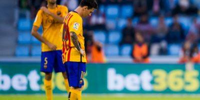 En el partido de ida de la Supercopa de España también fueron humillados 4-1 por el Athletic de Bilbao Foto:Getty Images