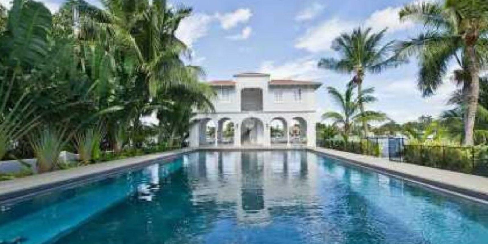 Tenía una mansión en Miami. Foto:vía Micasaenflorida.com