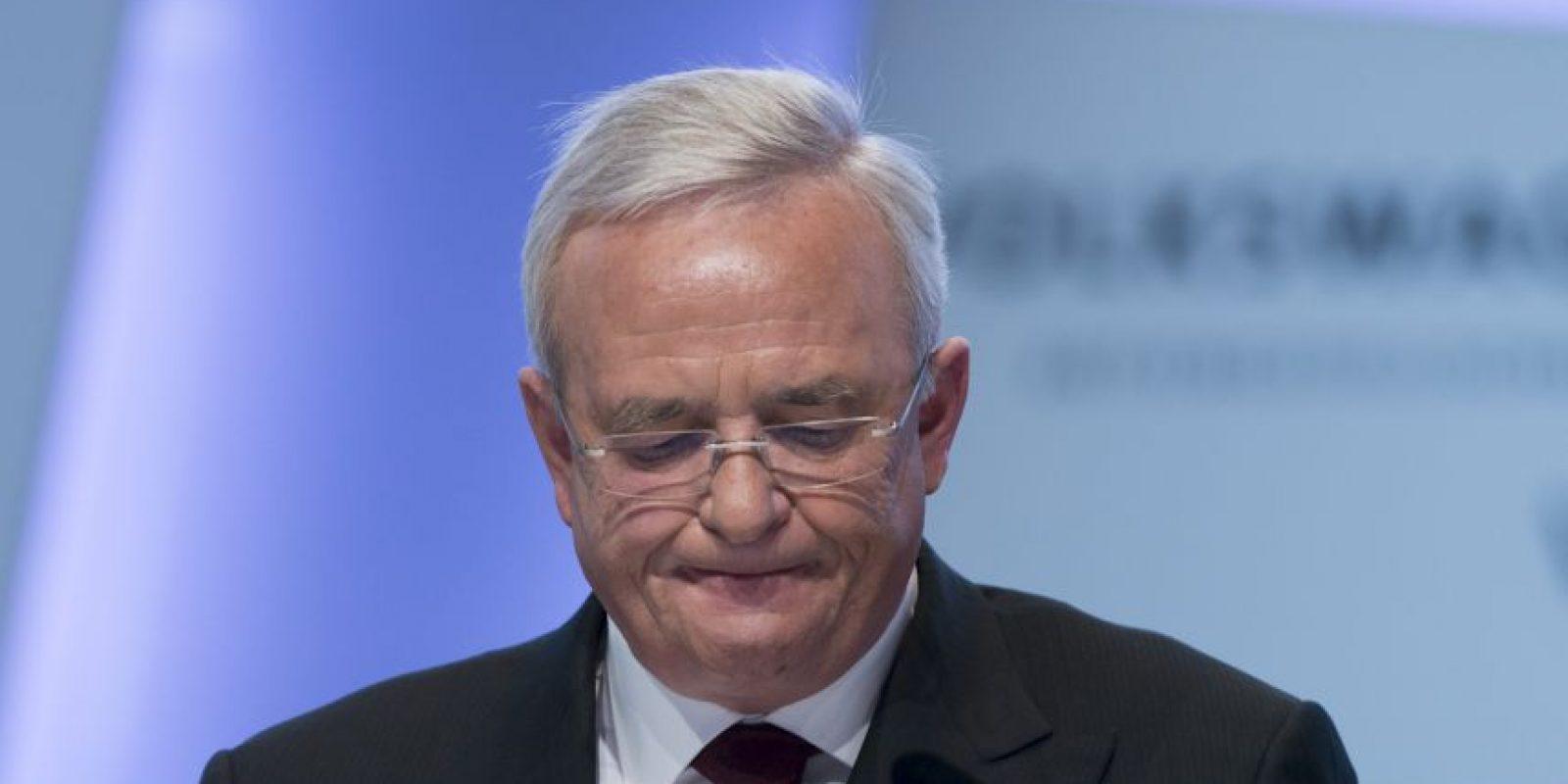 Por otra parte Martin Winterkorn, quien era el CEO de la empresa fue despedido. Foto:AFP