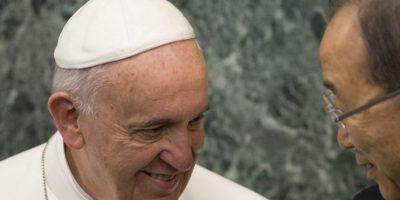 """También mencionó el """"Derecho al ambiente"""" Foto:AFP"""