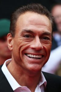 Con el famoso actor Jean-Claude Van Damme Foto:Getty Images