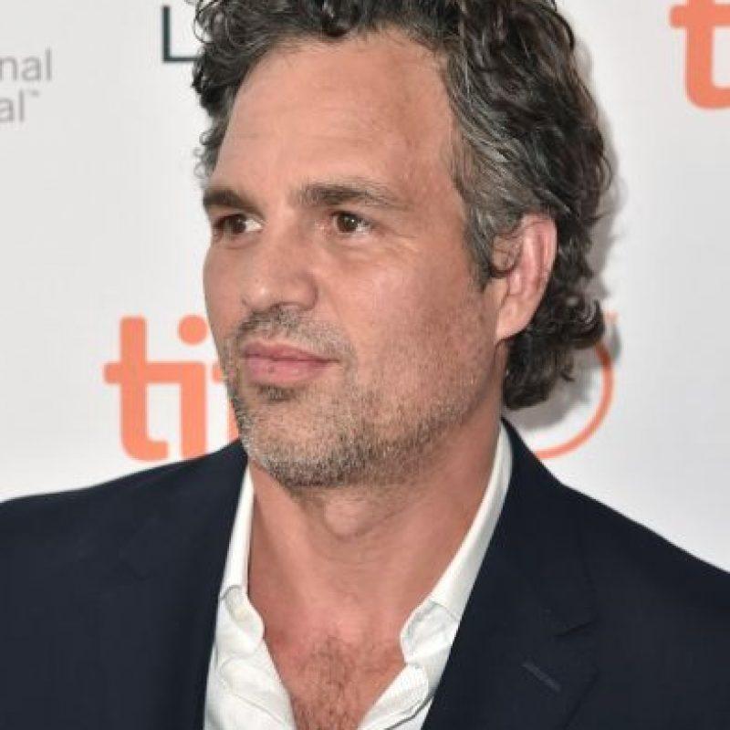 """Con el actor Mark Ruffalo de """"Avengers"""" Foto:Getty Images"""