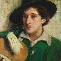 El pintor francés de origen bielorruso, Marc Chagall. Foto:Wikipedia