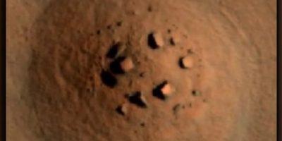 """Fotos: Investigadores OVNI encontraron un """"Stonehenge"""" en Marte"""