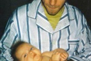 Frances Bean Cobain recibió su segundo nombre cuando su padre la comparó con una alubia (o un frijol) en su primera ecografía. Foto:vía Twitter.com/alka_seltzer666