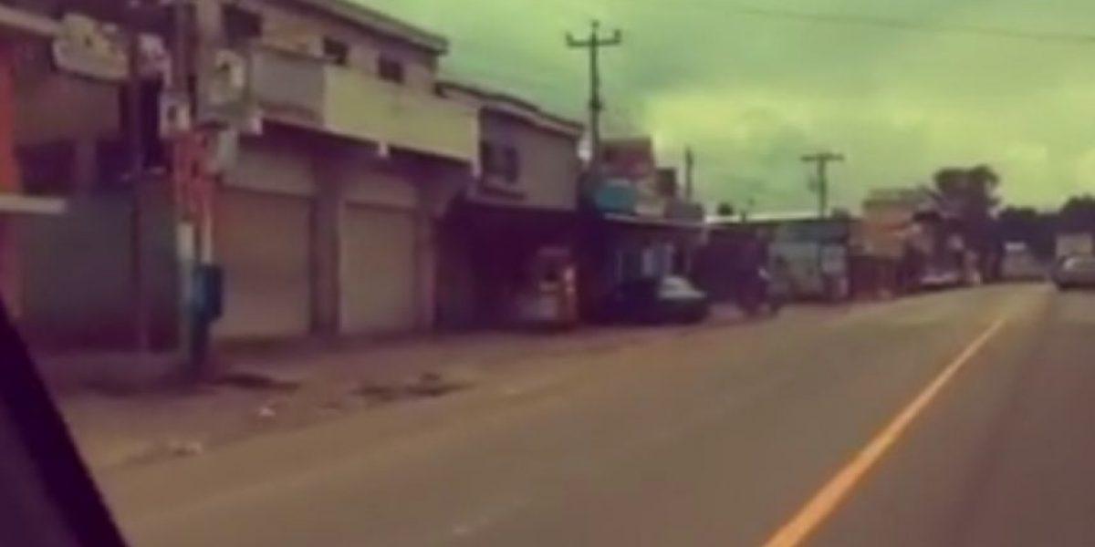 Video. Así lucen los negocios de Chimaltenango ante las extorsiones