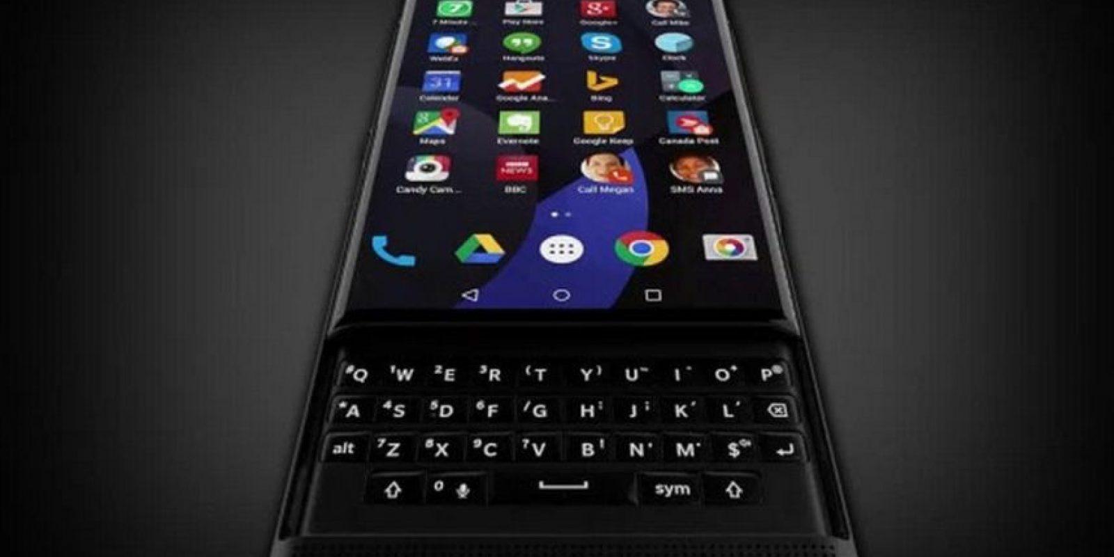 BlackBerry Priv estará a la venta a finales de año. Foto:BlackBerry