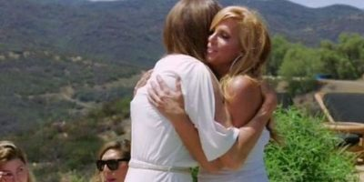 Incluida, Candis Cayne, con quien se le ha relacionado sentimentalmente. Foto:E! News
