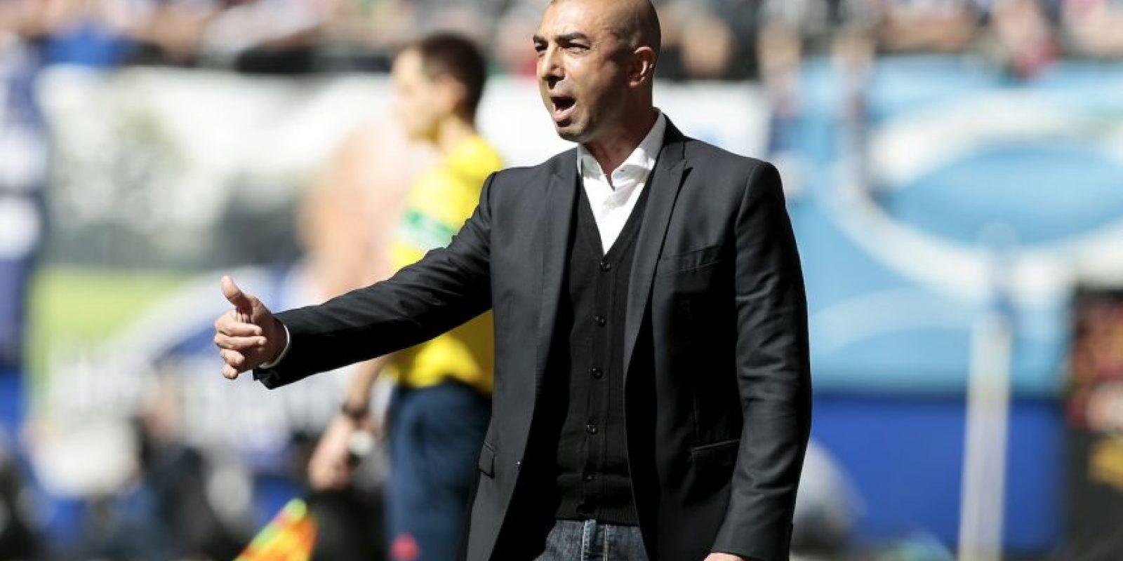El DT de 45 años levantó la Champions League con el Chelsea, en 2012 Foto:Gettu Images