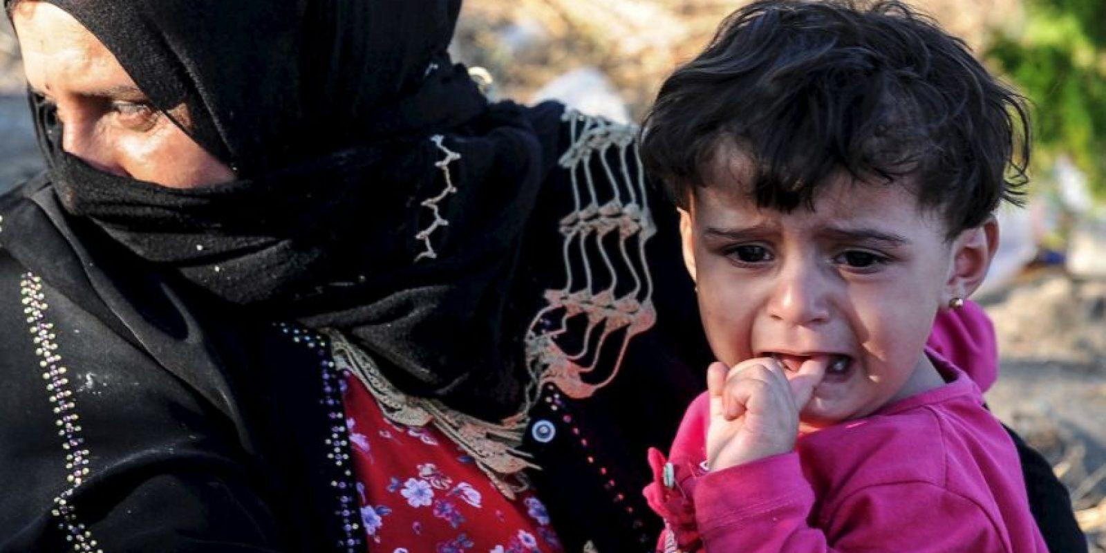 2 millones de niños que viven ahora como refugiados en Líbano, Jordania, Irak, Turquía, Egipto y otros países del norte de África. Foto:Getty Images