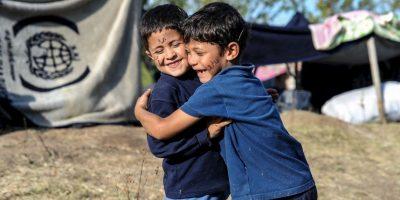 5.6 millones de niños que sufren situaciones extremas dentro de Siria: pobreza, desplazamiento y estado de sitio. Foto:Getty Images
