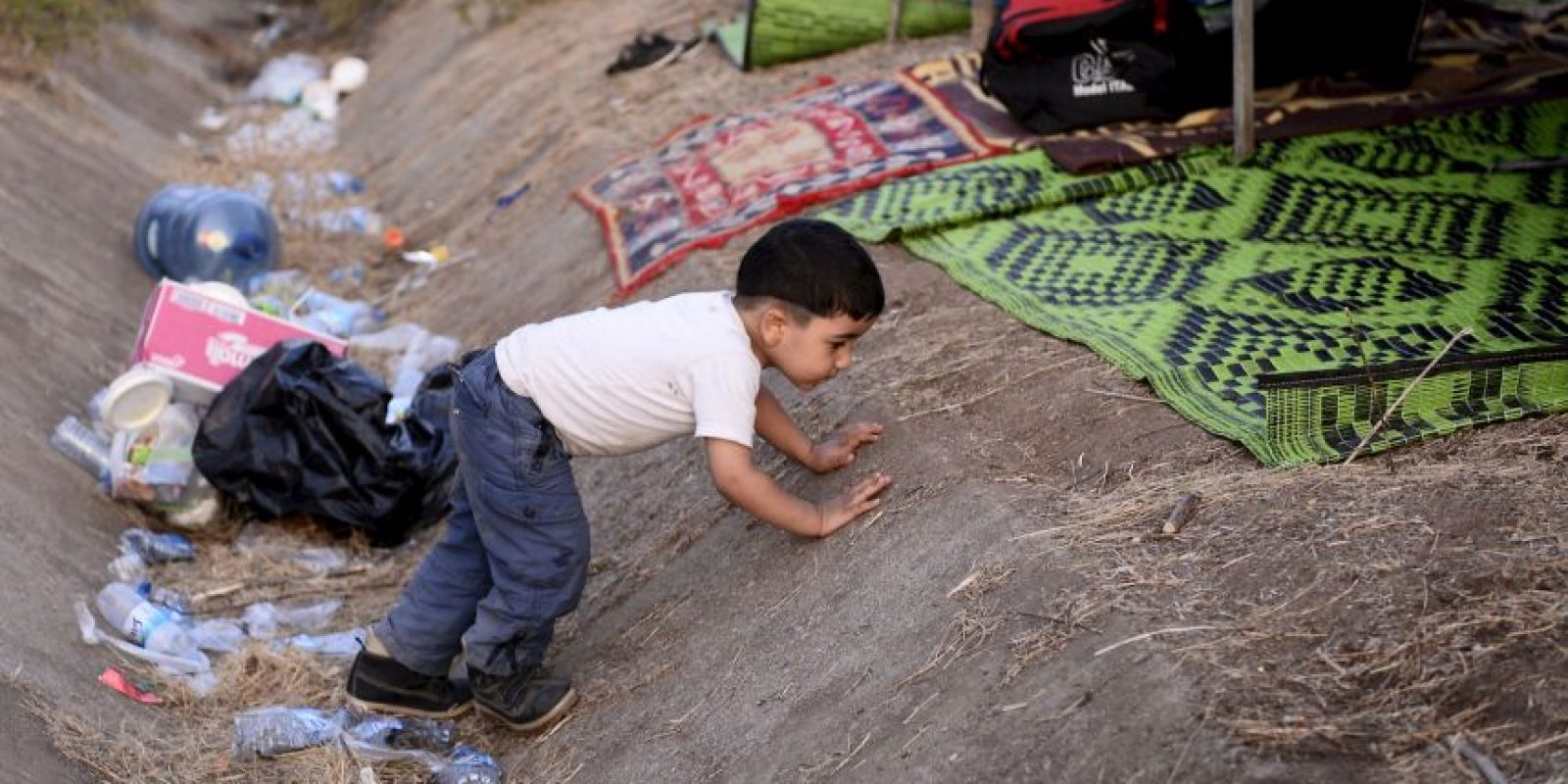 3.6 millones de niños de las comunidades vulnerables en las que se albergan otros refugiados. Foto:Getty Images