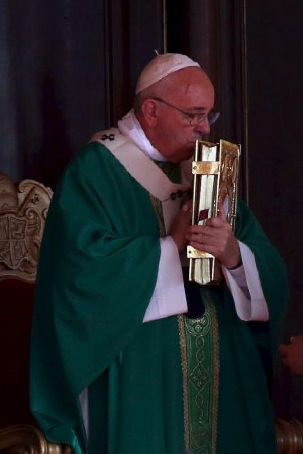 La visita del Papa a Estados Unidos comenzó el 22 y terminará el 27 de septiembre. Foto:Getty Images