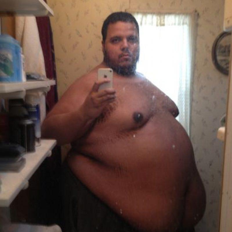 Jesse Stone pesaba 317 kilogramos. No se podía ni mover. A sus 26 años se dio cuenta de que tocó fondo. Foto:vía Jesse Shand