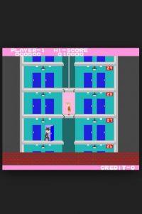 """El videojuego para NESS """"Elevator Action"""" tiene la misma trama: eliminar enemigos dentro de un edificio Foto:Taito"""