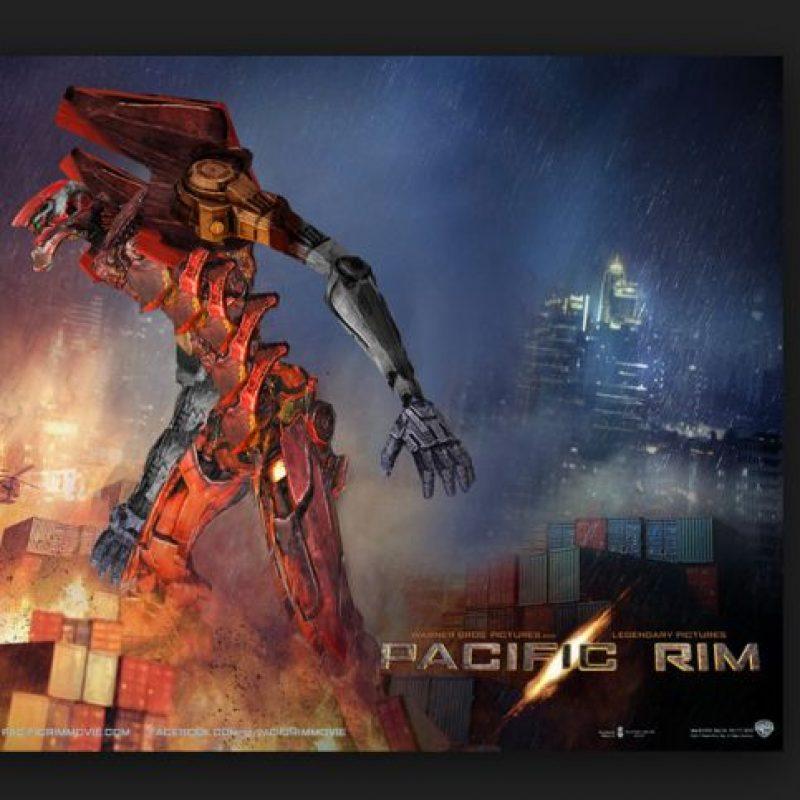 """Sin embargo, la referencia inmediata de esta cinta y los """"mechas"""" es el anime """"Evangelion"""", la primera historia en mostrar estos enormes robots Foto:Wikicommnos"""