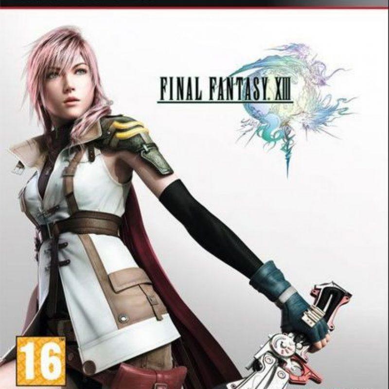 """Se trata de """"Final Fantasy XIII"""", del cual capturó la esencia de las batallas y la apariencia de los personajes Foto:Square Enix"""