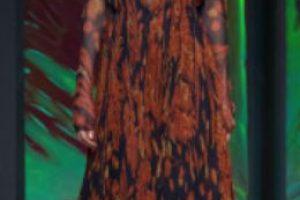 Este vestido boho en… Foto:vía Getty Images
