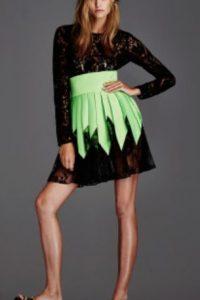 Este vestido conceptual en… Foto:vía Getty Images