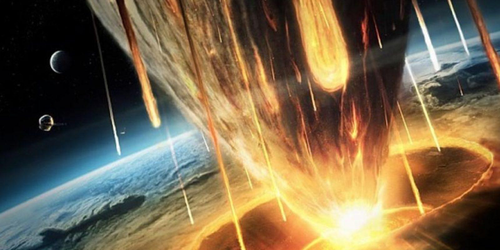 Seguido a esto, los retos del impacto se esparcirían por la atmósfera terrestre. Los restos del meteorito viajarían en pocas horas a todas las ciudades del planeta. Foto:vía Astroart
