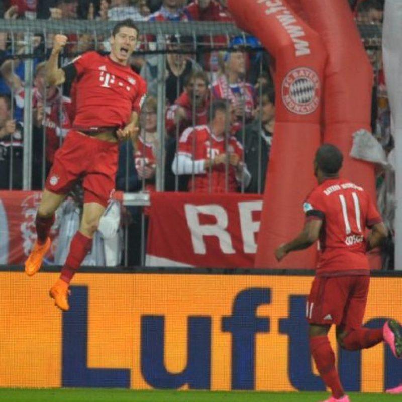 Robert Lewandowski se destapó con cinco goles hace un par de días Foto:Getty Images