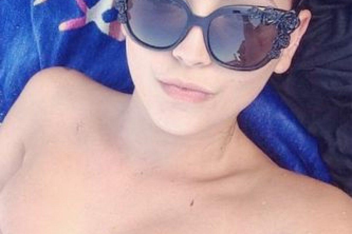 """La modelo apareció en el spot de la nueva fragancia de """"CR7"""" Foto:Vía instagram.com/clausan"""