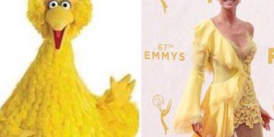 Heidi Klum sin duda es la ganadora esta semana. Foto:vía Getty Images